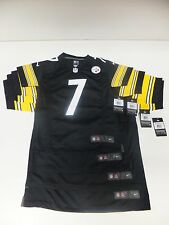 Nike NFL Pittsburgh Steelers Jersey #7 Roethlisberger Youth Childs kids S M L XL