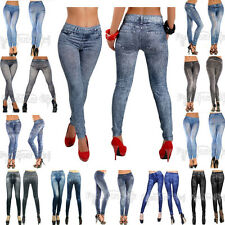Women Sexy Jean Skinny Jeggings Stretchy Slim Leggings Fashion Skinny Pants New