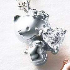 Hello Kitty 40th Silver 925 Necklace Pendant Fashion Jewelry From Japan Gift F/S