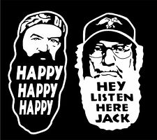 """6""""x6"""" Phil & Si Duck Dynasty Decal Sticker - Various Colors & FREE SHIPPING!"""