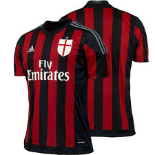 AC MILAN ADIDAS HOME JERSEY RED 2015 2016 FOOTBALL CLUB SOCCER OFFICIAL MENS NEW