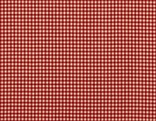 """84"""" French Country Gingham Check Crimson Red Fabric Shower Curtain Cotton"""