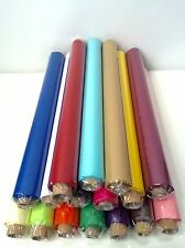 "48 Sheets Tissue Paper Rolls Each Sheet 20"" x 30""  17 Quality Colours To Choose"