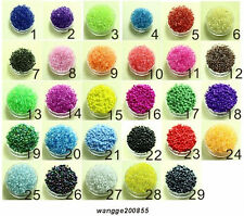Free shipping&DIY Jewelry Making 1000 Pcs(15g)2mm Czech Glass Seed Spacer beads