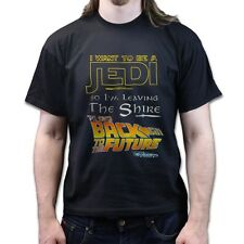 Jedi Master Leave The Hobbits Shire to go Back To The Future T Shirt 4xl 5xl 6xl