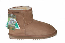 Australian Genuine Sheepskin Mini UGG Boots Chestnut Colour Australian Made