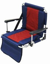 Portable Stadium Seat -Features padded seat & back and armrests-Great for games!