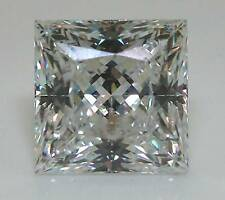 Princess Cut LOOSE LANNYTE  IF, D Color Lab Created Diamond $150 Per Carat