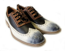 NEW FASHION *FERRO ALDO* MENS LACE UP OXFORDS WING TIP LEATHER LINED DRESS SHOES