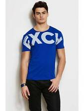 New AX Armani Exchange Mens Slim Muscle Fit Exploded Logo Tee Shirt