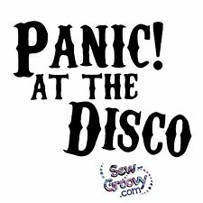 Panic! at the Disco Decal Logo Sticker Vinyl CHOOSE COLOR & SIZE Walls / Cars