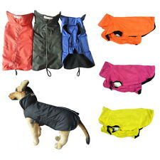 Waterproof Dog Coat Jacket Fleece Lined All Sizes Reflective Piping