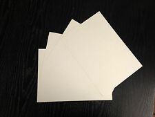BLANK A4 IVORY EMBOSSED CARD BLANKS / PRINT YOUR OWN CERTIFICATES / FREE P+P*