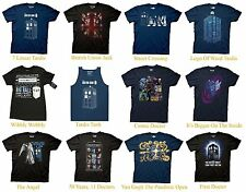Authentic Doctor Who Adult Men T-Shirt S-2XL Dr. Who
