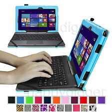 PU Leather Case Cover for ASUS Transformer Book T100 Window 8.1 Tablet 10.1-Inch