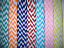 Chevrons Zig Zags 100% Cotton Quilt Fabric 7 Colors Available BTY