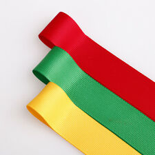 Neotrims Bright Grosgrain Ribbon Selection Jamaican Rasta Colours,Craft Costume