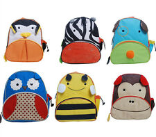 Skip Hop Style Children Backpack Lunch Bag Knapack Box Six Animals Available 3+