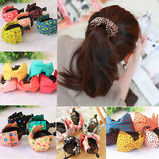 Fashion Cute Women Girl Jaw Claw Clips Ponytail Clip Holders Hair Accessories