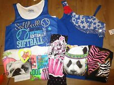 NWT Justice Girls Teens Embellished Tank Top,4th of July Shirt 12,14,16,18