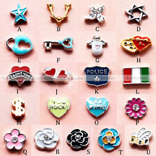New Arrival Styles Floating Charms Free Shipping for Glass Living Memory Lockets