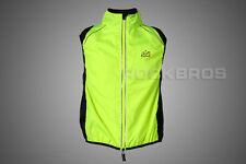 Tour de France Cycling Vest Wind Vest Windvest Sleeveless Green