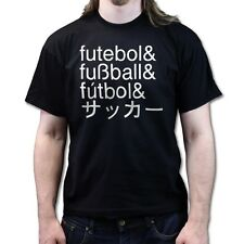 Brazil 14 World Cup Football Fussball Futebol Futbol T-shirt F03
