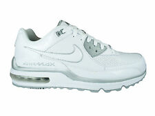 NEW MENS NIKE AIR MAX WRIGHT TRAINERS CASUAL SHOES TRAINERS WHITE / SILVER
