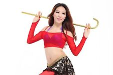 2014 Sexy Soft Tribal Belly Dance Costume Tranparent Top Blouse