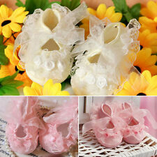 Girl Cute on-Slip Newborn Baby Toddler cloth Shoes With Beautiful Lace