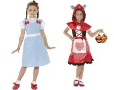 Girls World Book Day Fun Costumes Dorothy Miss Hood Role Play Fancy Dress M & L