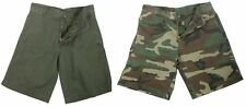 Rothco Flat Front 5 Pocket Vintage Military Cargo Shorts