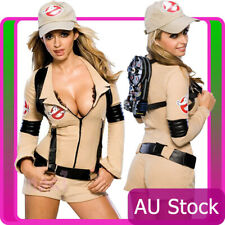 Licensed Ladies Rubies Ghostbuster Sexy Costume Halloween Womens Fancy Dress
