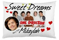 Personalized  One Direction Pillow Cases 5 Designs 'You Choose Name