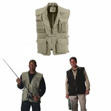 Rothco Deluxe Safari Outback Hunting Fishing Vest