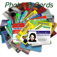 Personalised Custom ID, Membership - Business Card - Plastic Card Printing