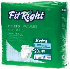 Fitright Ultra Adult Briefs/ Adult Diapers by Medline (80/ case)