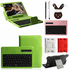 "Removable Bluetooth Keyboard Leather Case for Amazon Kindle Fire HD 7"" 2nd Gen"