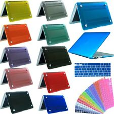 """Crystal Clear Case+Keyboard Cover for Macbook  Air 11"""" 13""""&Pro 13"""" 15"""" Retina"""