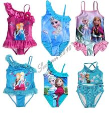 New Girls Kid Queen Elsa&Anna Swimsuit Swimwear Tankini 2-9T Swim Clothes