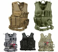 Rothco Military Cross Draw Tactical MOLLE Vest
