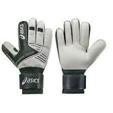 Soccer Goalkeeper Gloves Adult ASICS KEEP white black T785Z9