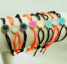 New MARC BY M JACOBS Disk Logo Letters woven Bracelet 7 colors available