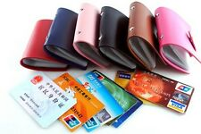 New 24 Cards Soft PU leather Credit ID Card Holder Wallet