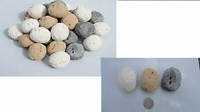 universal small pebbles for gas fire beige/white/grey