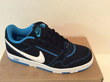 Nike Air Prestige III 3 Skater Shoes Womens SZ 7 8 White Black Blue 394656 040