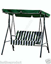 Garden Swinging chair Outdoor Bench Seat Seater Lounger Set