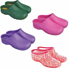 BRIERS GARDEN CLOGS VARIOUS COLOURS AND SIZES PVC FASHION GARDENING SHOES