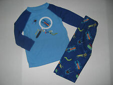 Gymboree GYMMIES Sleepwear BUG HUNTER Little Boys size 12 18 24 m 2 pc Jammies