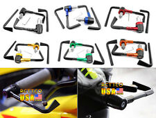 "Universal 2pcs 7/8"" Brake Clutch CNC Protect Guard System Levers For CBR YZF GSX"